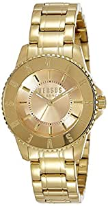 Versus by Versace Analog Champagne Dial Women's Watch - SH720 0015