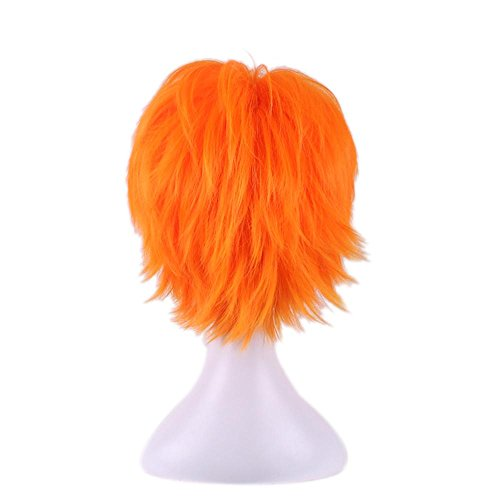 New Fashion Cosplay Wig Zootopia Fox Nick Wilde Orange Short Stright Woman Halloween Anime Game Party Short Hair Wig