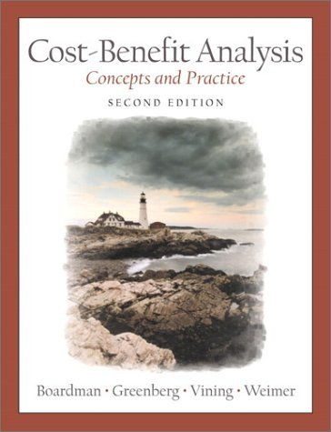 Cost-Benefit Analysis: Concepts and Practice:2nd (Second) edition