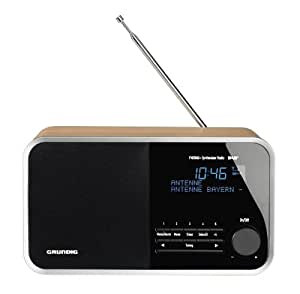 Grundig TR2200 DAB+ Radio Portatile, Marrone