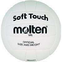 MOLTEN VP5 - Pelota de voleibol (talla 5), color blanco