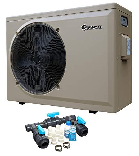 Well2wellness Piscina Pompa di Calore Pompa di Calore Ph 25l By Fiera - Riscaldamento Piscina con una Heizkapazität fino 10 Kw