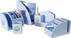 A+ ChildSupply Blue Stationary Organizer -5 pieces