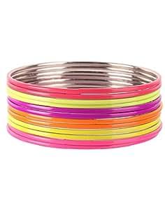 Multicolour Neon Color Fancy Bangles