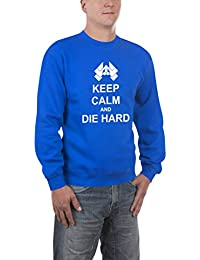Touchlines Herren Pullover Keep Calm and Die Hard