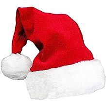Gorro de Navidad unisex, gorro de Papá Noel, para fiestas, festivo, familiar, gorro, regalo para adultos
