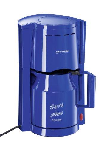 Severin KA 9208-252 - Cafetera eléctrica con dos termos (hasta 8 tazas, 800 W), color azul