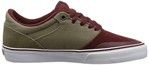 Etnies MARANA VULC Herren Skateboardschuhe Red (Burgundy/Brown)