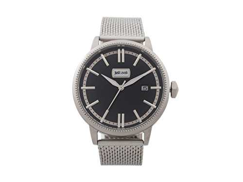 Just Cavalli Men's Analogue Quartz Watch with Stainless Steel Strap JC1G018M0045
