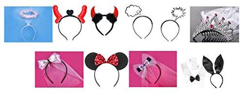 1 Stück Lollipop® Haarreifen 'Party', one Size, Modell NACH Wahl (Minnie Mouse)