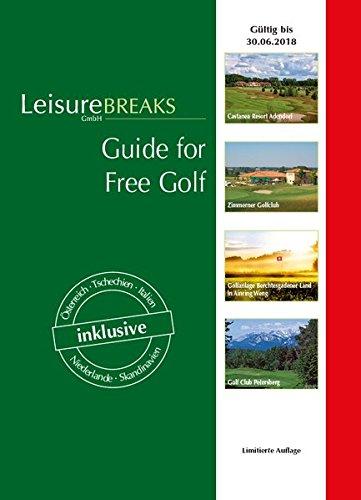 Guide for Free Golf: gültig bis 30.06.2018