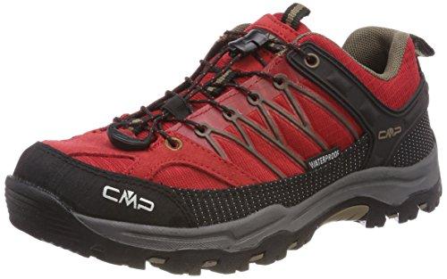 CMP Campagnolo Unisex-Erwachsene Rigel Trekking-& Wanderhalbschuhe, Rot (Ferrari-Tortora), 41 EU