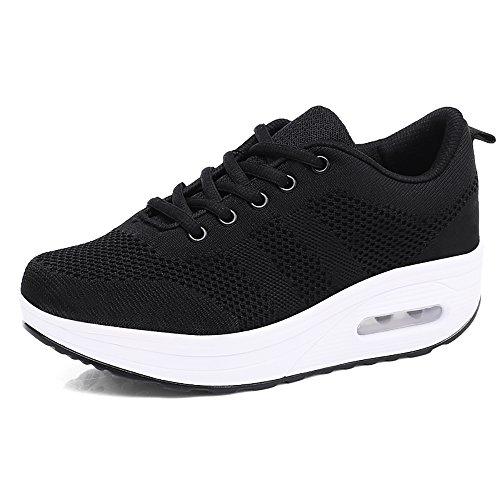 Mujer Zapatillas de Deporte Cuña Zapatos para