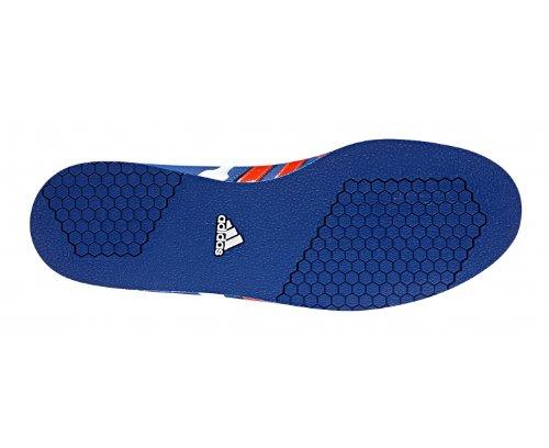Adidas Powerlift 2.0 Weightlifting Shoes, Blue/White/Red, US 6 | UK 5.5 | EU 38 2/3