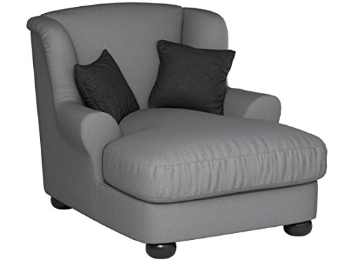 Cavadore 2271686 XXL-Sessel Love Seats  grau - 7