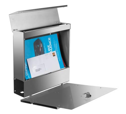 Frabox Edelstahl Design Briefkasten LENS - 4