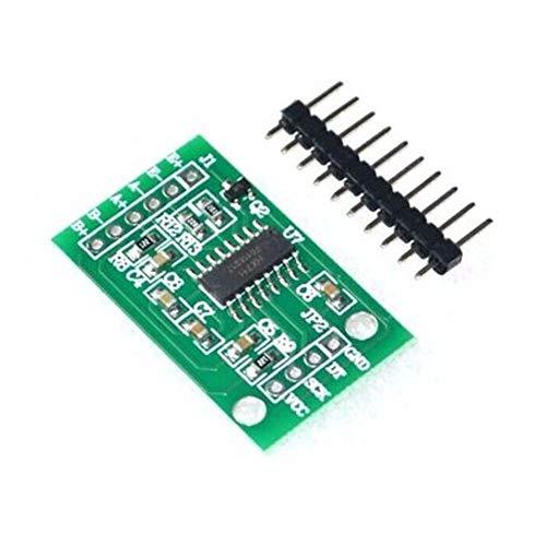 HAPPY-DZ praktische HX711 Wiegen Drucksensor Dual-Channel 24-Bit Präzision AD Modul Wägezelle für Arduino