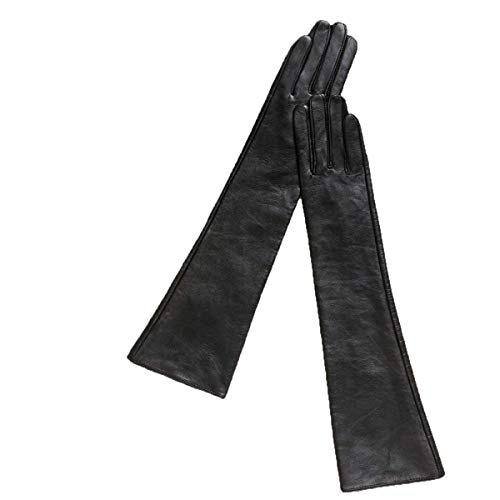Ein-arm-laufwerk (Elodiey 45 Cm Lange Abschnitt Handschuhe Damen Sets Laufwerk Arm Warmhalten Fausthandschuhe 20er Jahre Outdoor Fäustlinge (Color : Schwarz, Size : M))