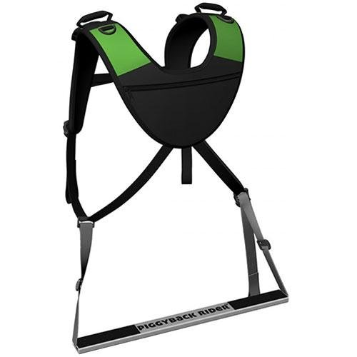 the-piggyback-rider-standing-child-carrier-nomis-basic-model-green
