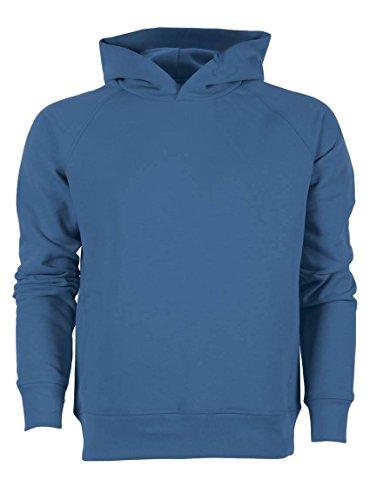 Maratus Herren Bio Kapuzensweat Kapuzenpullover Fair Wear Royal Blau