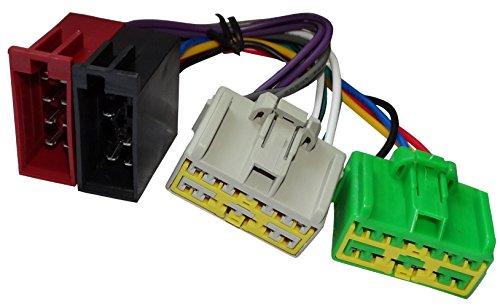 Aerzetix - ISO-Konverter - Adapter - Kabel Radioadapter Radio Kabel Stecker ISO-Kabel Verbindungskabel Volvo Radio Antenne