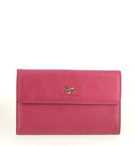 Gil Holsters, Borsa a mano donna rosa Rose 19L x 12H x 2.5E cm