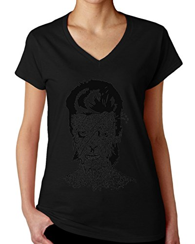 Zombie Girl Design Women's V-Neck T-Shirt XX-Large