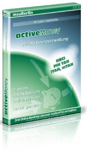 activeMoney - Haushaltsbuch und Online-Banking für den Mac