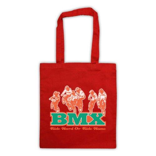 Ride-Borsa posteriore per BMX Rosso
