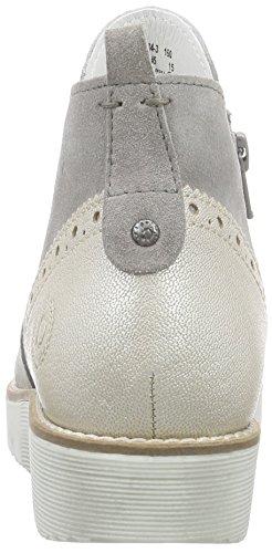 Bugatti - J79343, Sneaker alte Donna Grigio (Grigio (Grigio 160))