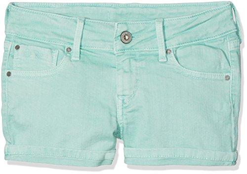 Pepe Jeans Mädchen Foxtail Badeshorts, Grün (Bright Hydro), 12 Jahre (Herstellergröße: 12) (Mädchen Shorts Jeans)