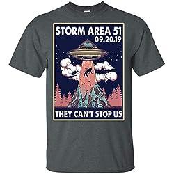 Camiseta Tormenta en Area 51 No podrán pararnos a todos