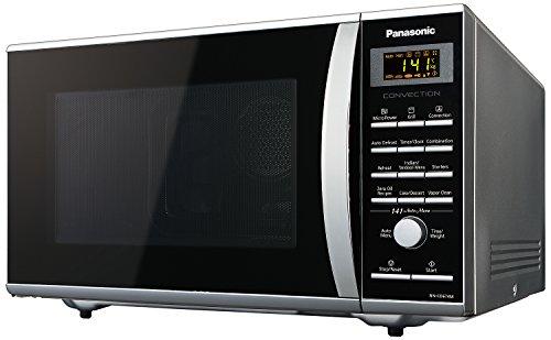 Panasonic NN-CD674MFDG 27-Litre Convection Microwave Oven (Sliver)Free Panasonic microwave start-up kit,7pc