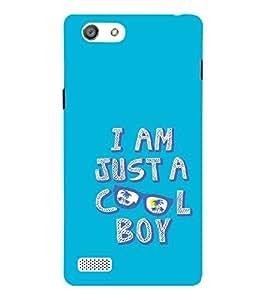 Fiobs Designer Back Case Cover for Oppo Neo 5 :: Oppo A31 :: Oppo Neo 5S 2015 (Cool Boy Blue )
