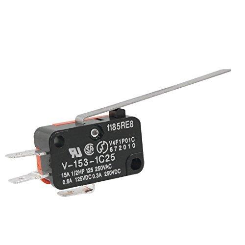 Preisvergleich Produktbild V-153–1C25Lange Gerade Scharnier Hebel Micro Limit Switch 15A 1/2-PS-125/250VAC
