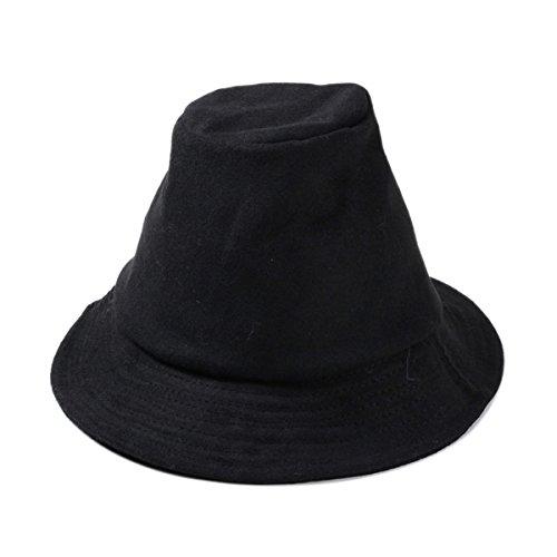 En été Les Casquettes De Pêcheur De Tendance Bobs Sauvage Casquette Plate Chapeau Rétro Britannique Un Petit Chapeau Black