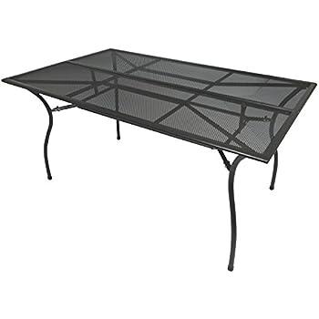 nostalgie gartentisch schmiedeeisen 12kg tisch loungetisch antik stil braun. Black Bedroom Furniture Sets. Home Design Ideas