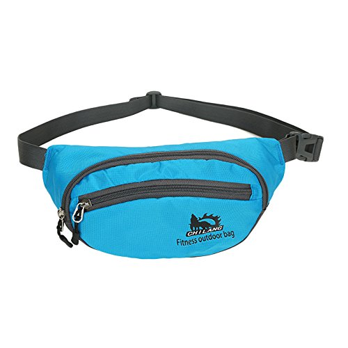 nihiug Pack De Taille Sac Sport Outdoor Running Pocket Mâle Multifonctionnel Portable Fitness Mobile Sac Bourse