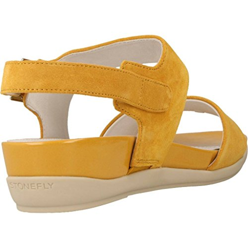 Sandalen/Sandaletten, farbe Gelb , marke STONEFLY, modell Sandalen/Sandaletten STONEFLY EVE 9 VELOUR Gelb Gelb