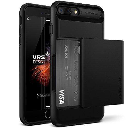 Funda-iPhone-7-Plus-VRS-Design-Damda-GlideNegro-Brillante-Wallet-Card-Slot-CaseHeavy-Duty-Proteccin-Cover-Para-Apple-iPhone-7-Plus-2016