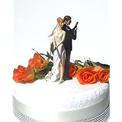 Figura tarta novios matones sexys