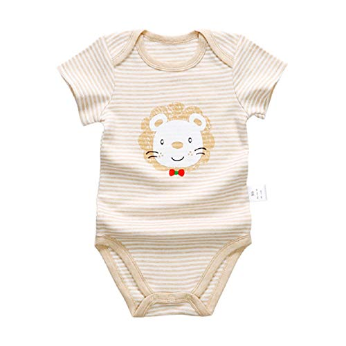 Liusdh 2019 Kinder Kleidung Strampelanzug für Neugeborene Baby Kleinkind Jungen & Mädchen Cartoon Strampler Animal Printed Jumpsuits Outfits -