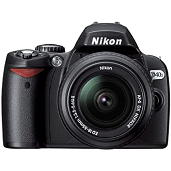 Nikon D40X - Cámara Réflex Digital 10.2 MP (Objetivo DX 18-55 mm ...