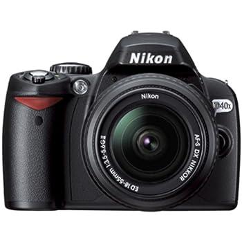 Nikon D40x SLR-Digitalkamera schwarz inkl. AF-S DX: Amazon