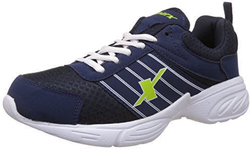 Sparx Men's Navy Blue and White Running Shoes - 10 UK/India (44 EU)(SX0271)  available at amazon for Rs.860