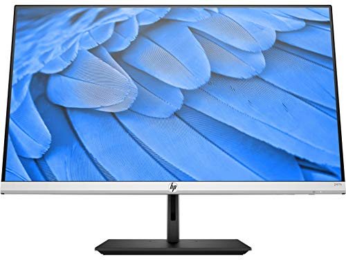 HP 24fh - Monitor de 23.8' FullHD (1920x1080, IPS, 16:9, HDMI 1.4, Altura Ajustable, antirreflectante, 5 ms, Low Blue Light, AMD FreeSync, 75 Hz), negro