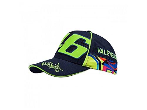 Cap VR46 VR 46 Valentino Rossi Blue Official Racing Apparel
