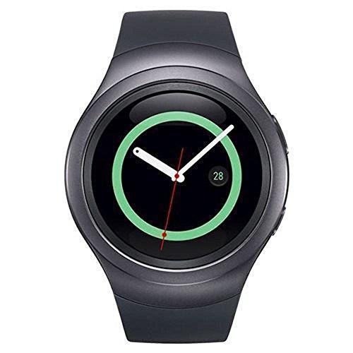 Samsung Gear S2 Smart watch SM-R720 Bluetooth, Black 4GB -Asia Version