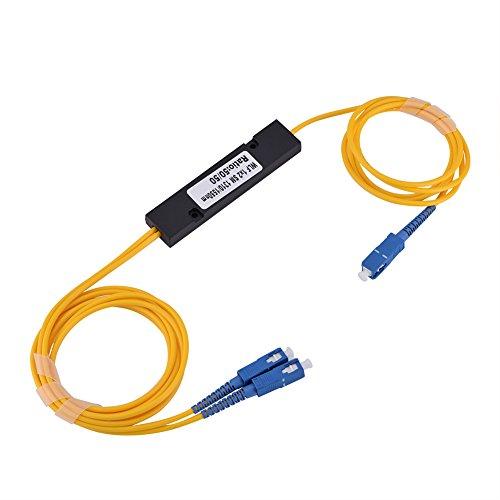 Preisvergleich Produktbild Glasfaser-Splitter,  1 bis 2 Einspielermodus SC Optisches Splitterkabel mit SC-SC Stecker,  SC SC Singlemode-Kabel für Bildungsnetzwerk Boardbrand Intelligent System