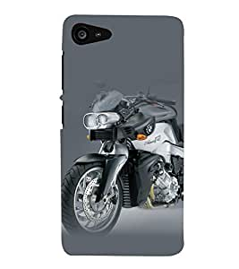A2ZXSERIES Superfast Bike Back Case Cover for OPPO A37 A37F